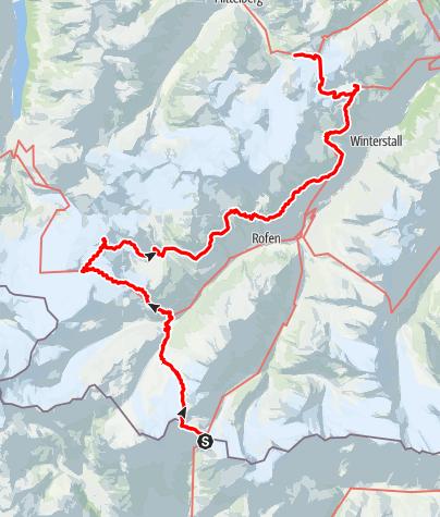 Map / Ötztal Trek Route 4