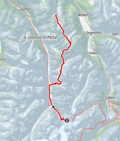 Map / Ötztal Trek Route 5