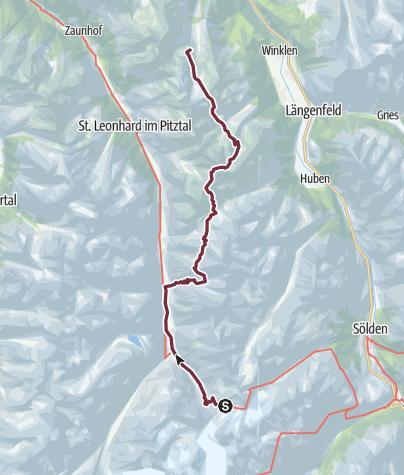 Map / Ötztal Trek Route 5