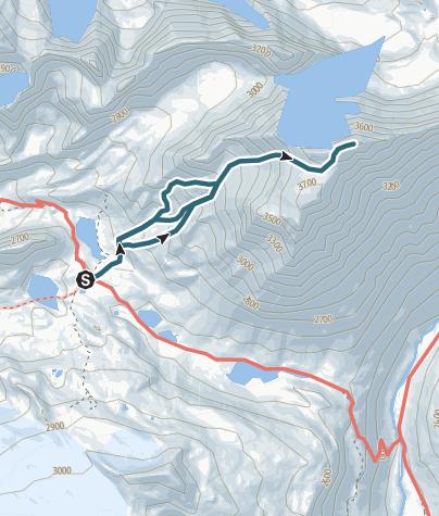 Carte / J11 Ascension Grande Casse : J2 première partie