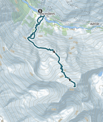 Mapa / J9 Pointe de Charbonnel