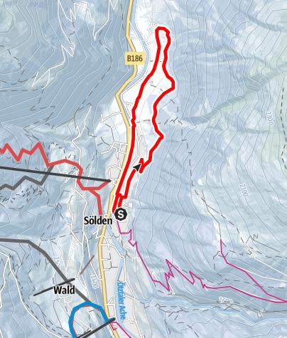 Map / Rechenaurunde - Sölden