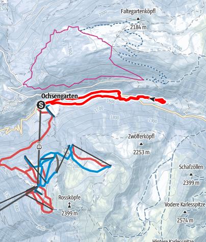 Karte / Ochsengarten Rundwanderweg