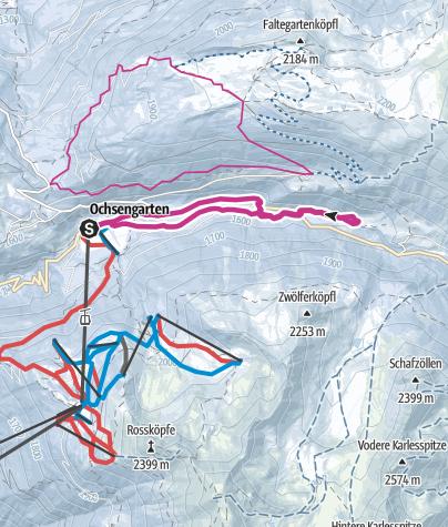 Map / Ochsengarten's Roundway