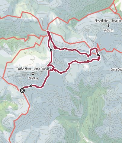Map / Ferrata Paterno