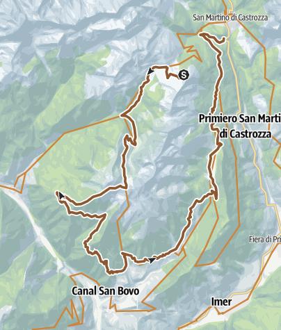 Cartina / Valsorda Enduro Trail - Malga Fiamèna