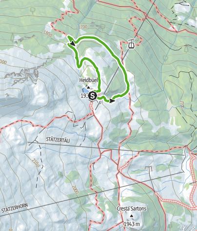 Map / Weather Dwarfs of Heidbüel