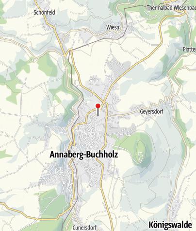 """Karte / Herbst-Wanderwoche """"Echt Erzgebirge"""""""
