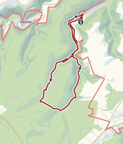 Karte / Von Erkensruhr durch das Püngel- und Wüstebachtal