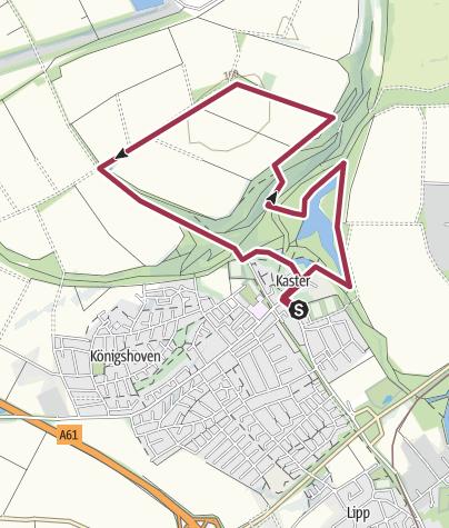 Map / Von Kaster auf die neue Höhe 12.09.2015
