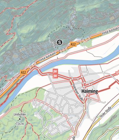 Karte / Klettergarten Haiming