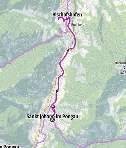 Map / Schanzengelände Bischofshofen