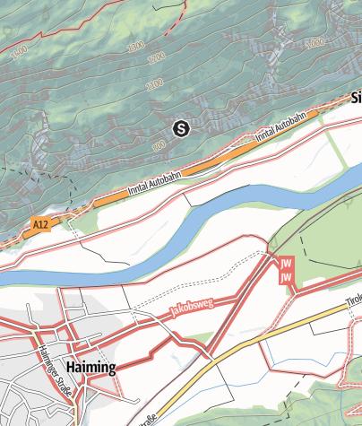 Map / Climbing garden Simmering