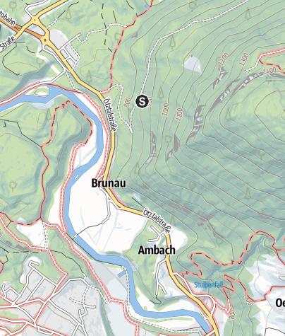 Map / Climbing garden Amberg
