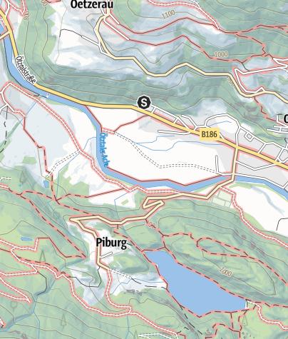 Karte / Klettergarten Oetz