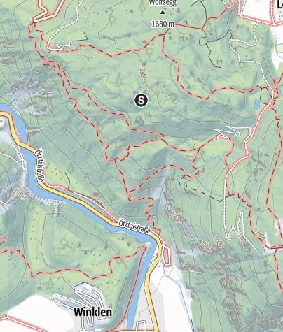 Karte / Klettergarten Niederthai
