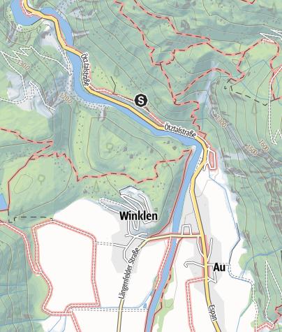 Karte / Klettergarten Auplatte