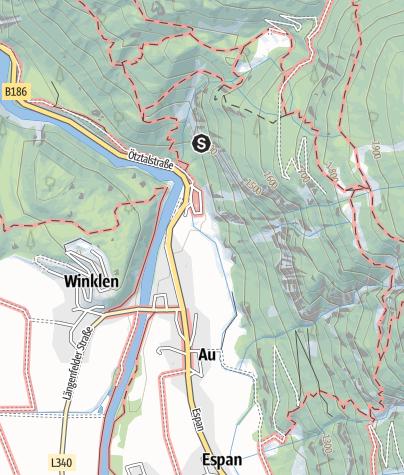 Karte / Klettergarten Nösslach