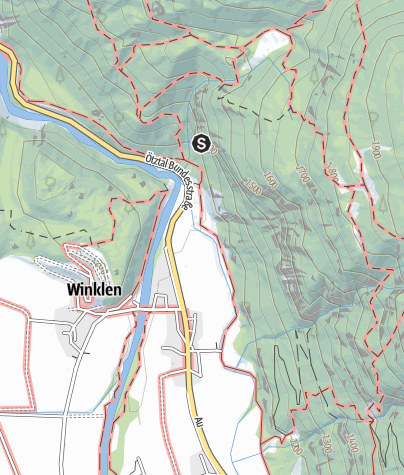 Map / Climbing garden Nösslach - Längenfeld