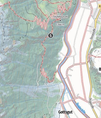 Map / Climbing garden Astlehn