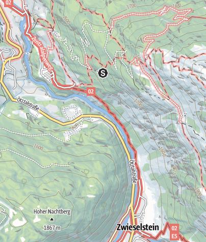 Karte / Klettergarten Moosalm