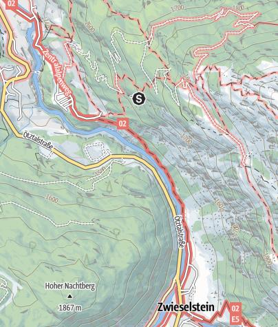 Map / Climbing garden Moosalm