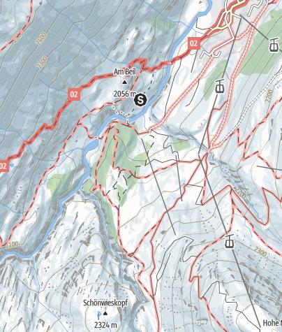 Karte / Klettergarten Zirbenwald
