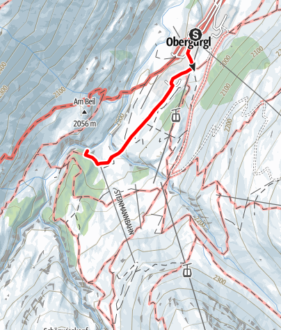 Map / Ferrata Obergurgl-Zirbenforrest