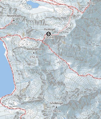 Map / Ferrata Kühtaier Panorama