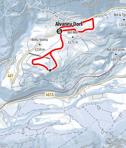 Map / Albula Kristallweg