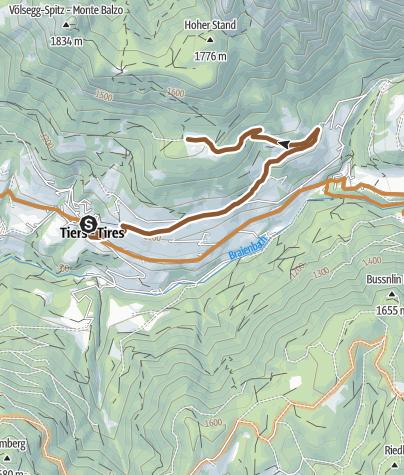 Map / Wuhnleger Lake loop route