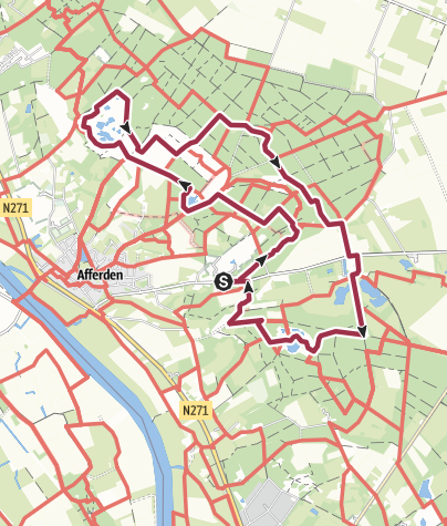 Map / Nationaal park De Maasduinen, 12,7km