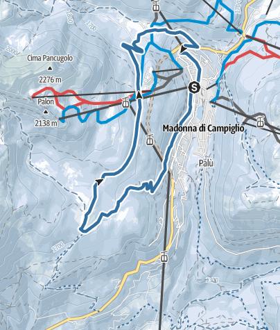Map / Malga Ritorto