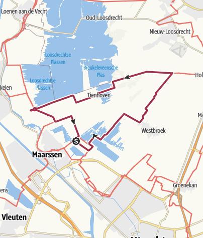 Map / Hollandse Waterlinie