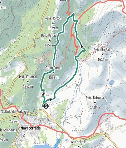 Mapa / Senderos de La Barranca 3/1/2021