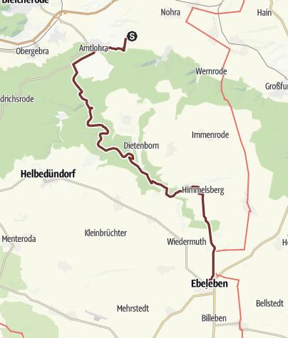 Karte / VIA ROMEA Straußberg - Ebeleben (23)