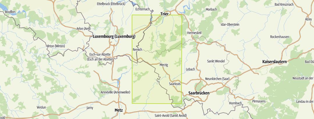 Karte / Unterwegs im Traumschleifenland Bd.1 (Wanderführer)
