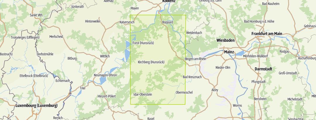 Karte / Unterwegs im Traumschleifenland Bd.4 (Wanderführer)