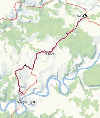 Map / LP_SJP_Etape 14 : Béduer à Cajarc