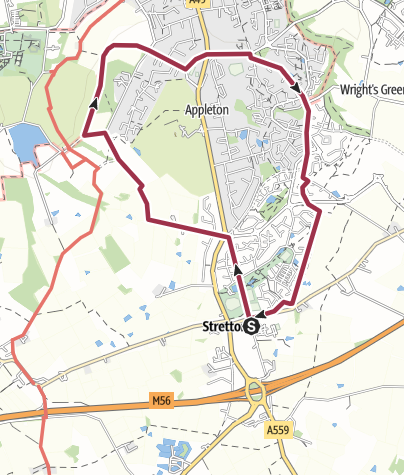Map / Stretton and Fox Covert