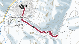 Map / Garganta y Cascada del diablo