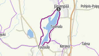 Map / Explore Nature at Lake Tuusula in Helsinki Region