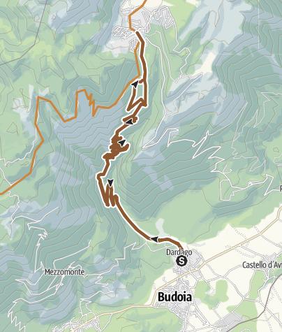 Map / Dardago-Piancavallo Venezia delle nevi