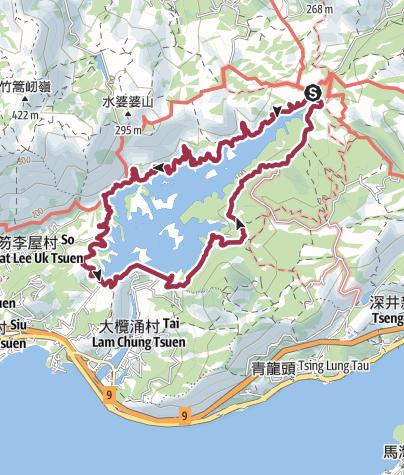 Map / 元朗/大棠/大欖水庫