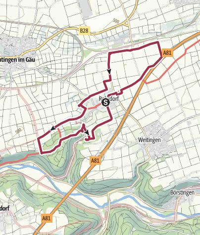 Karte / Wanderung am 10. Januar 2021
