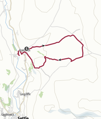 Map / Catrigg and Stainforth Force Walk