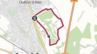 Map / GX Golf Course cicular 2.75m