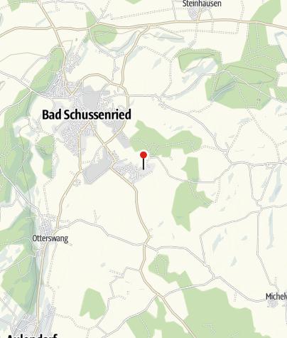 Map / Oberschwäbisches Museumsdorf Kürnbach
