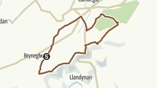 Map / Llantysilio Mountains