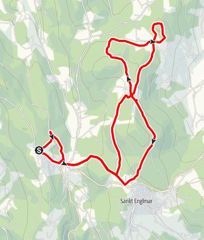 Karte / Kastenstein von Maibrunn
